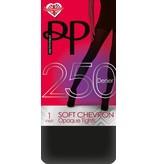 Pretty Polly Pretty Polly 250 denier Soft Chevron Opaque maillot