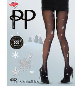 Pretty Polly X-Mas All Over Snowflake Tights