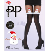 Pretty Polly Pretty X-Mas Snowman Mock Tights