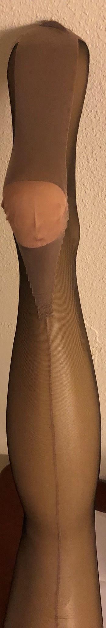Clio Clio 15 denier kousen met naad voor jarretelles 100% nylon