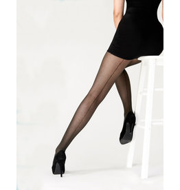 Pretty Polly Tulle Backseam Tights