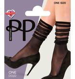 Pretty Polly Pretty Polly Stripe Fall Down Anklets 1PP