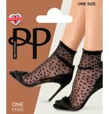 Pretty Polly Pretty Polly  Sheer Heart Anklet 1pp