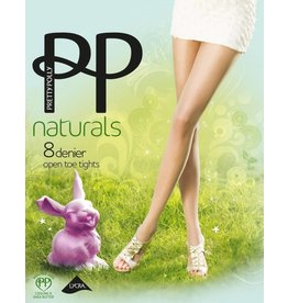 """Pretty Polly 8D. """"Naturals"""" Open too Summer Tights"""