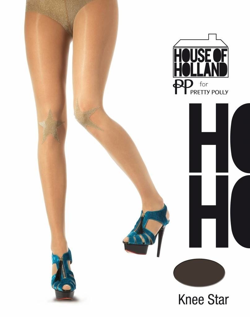 House of Holland House of Holland Lurex star on the Knee Tights
