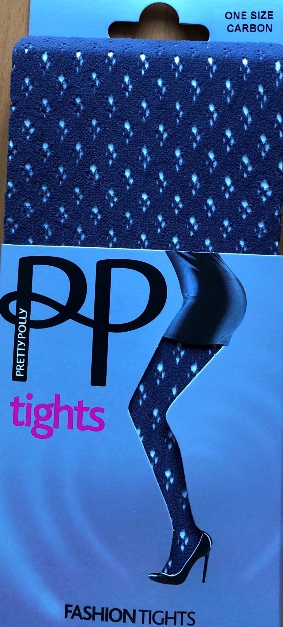 Pretty Polly Pretty Polly Fashion Dot Diamond Tights