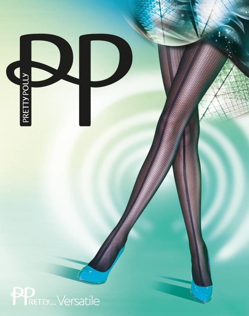 Pretty Polly Pretty Polly Panelled Mesh Tights