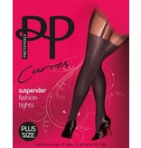 Pretty Polly Curves 60D. Suspender Tights