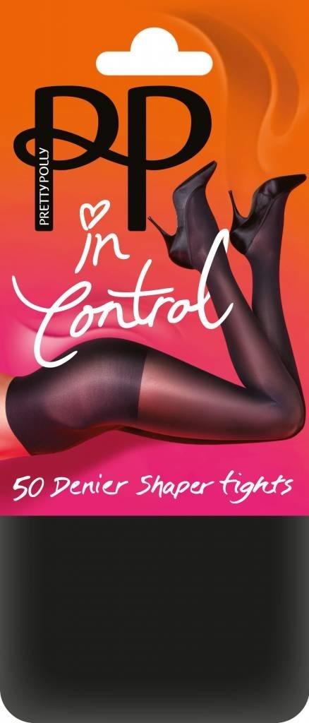Pretty Polly Pretty Polly In Control 50 Denier Opaque Shaper Tights