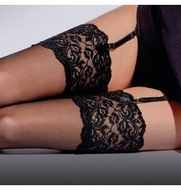 Aristoc 10D. Stockings with Lace Top