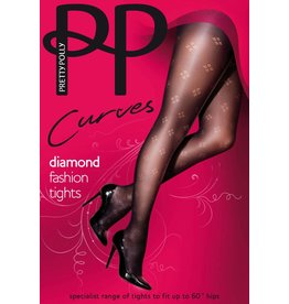 Pretty Polly Dot Diamond Fashion Panty
