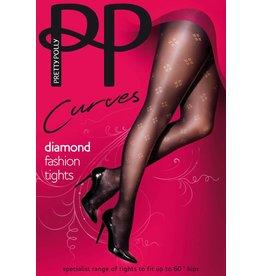 Pretty Polly Dot Diamond Fashion Panty