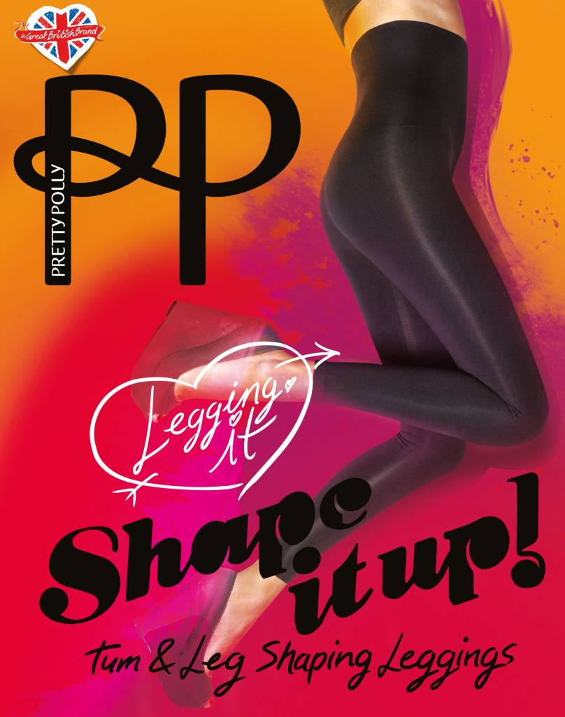 Pretty Polly 80D. Shape It Up Shaper Leggings