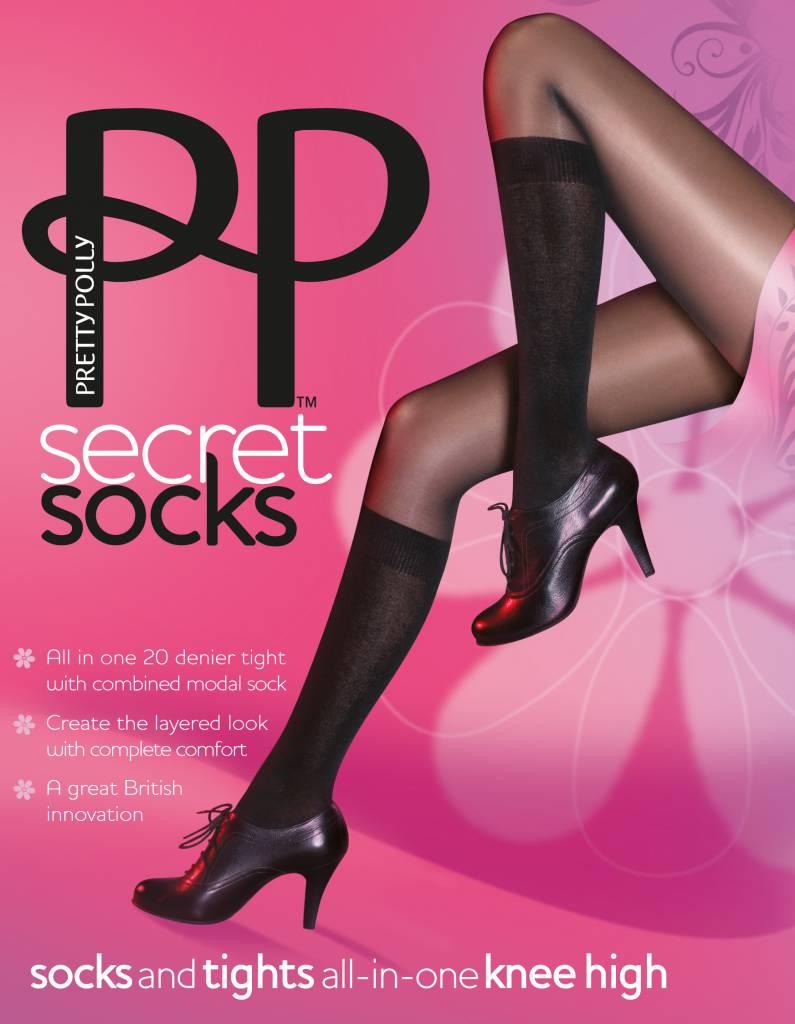 Pretty Polly Model Socks Panty