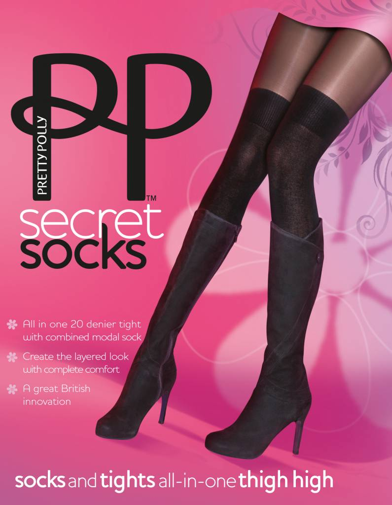 Pretty Polly Over the Knee Sock Panty