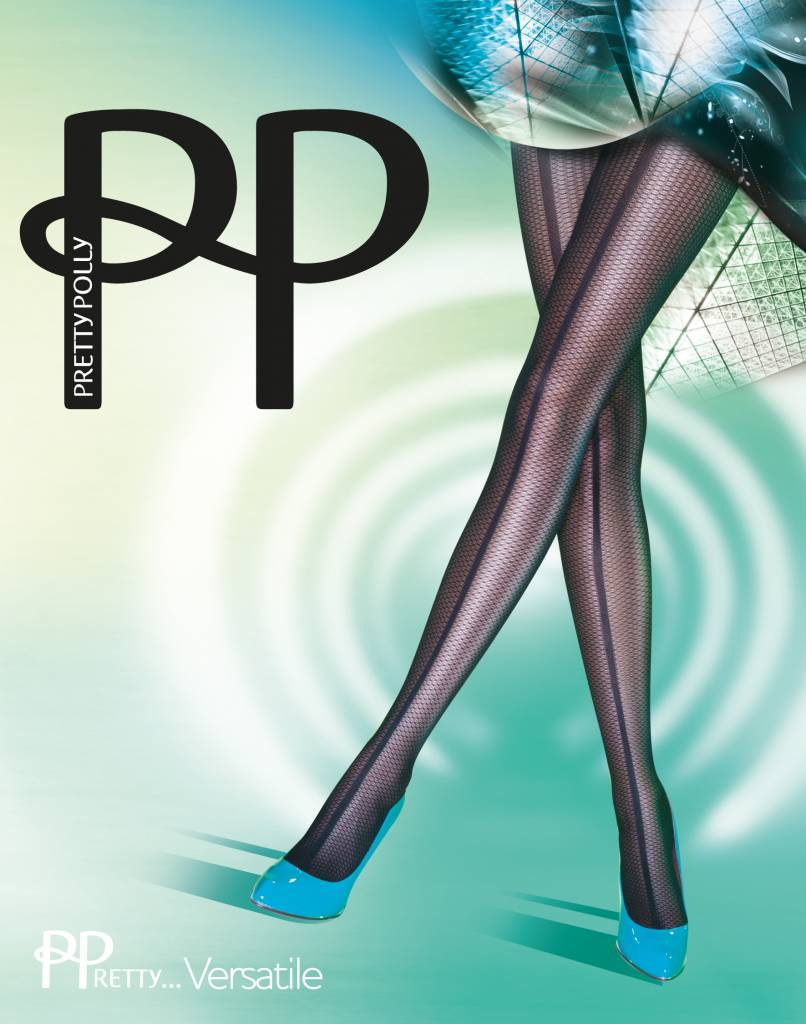 Pretty Polly Panelled Mesh Panty