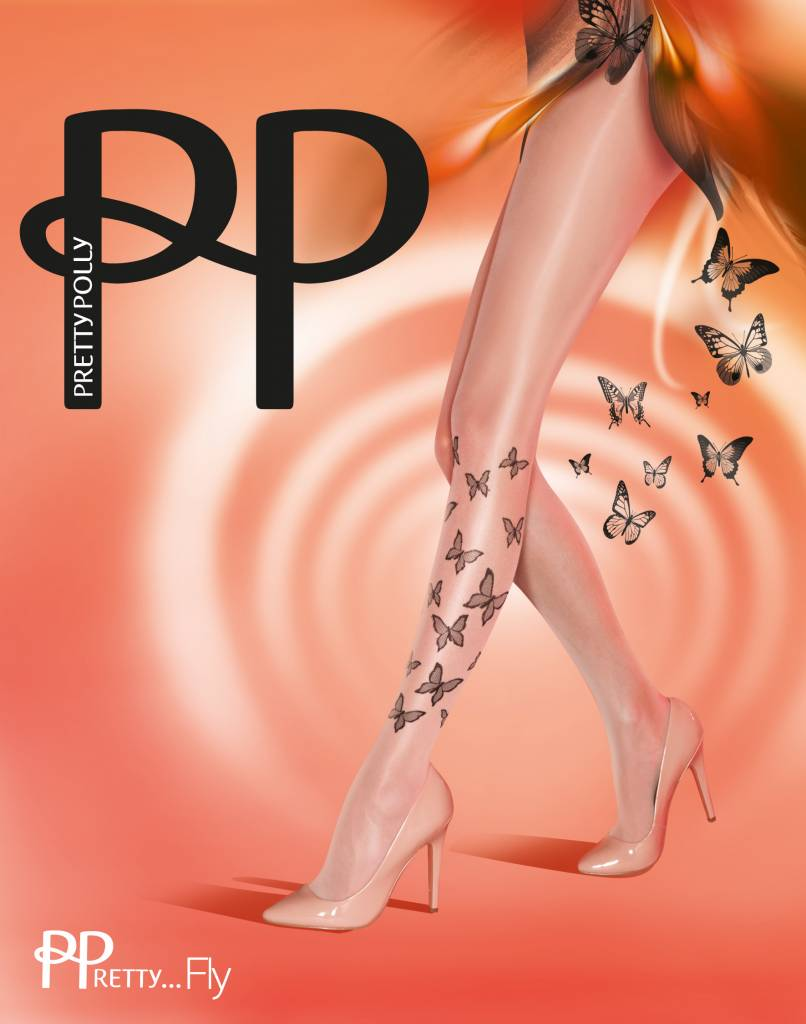 Pretty Polly Fly Tatoo Panty