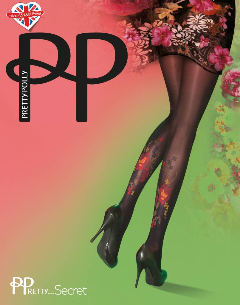 Pretty Polly Darkly Floral Tights