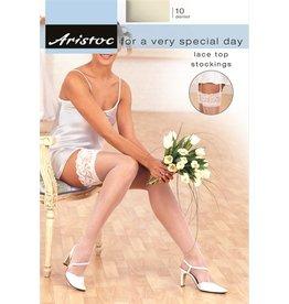 Aristoc 10D. Bridal Kousen met Lace Top