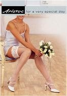 Aristoc 10D. Bridal Hold Ups with Lace Top