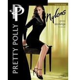 "Pretty Polly 10D. ""Nylons"" glans kousen / stockings voor jarretelles"