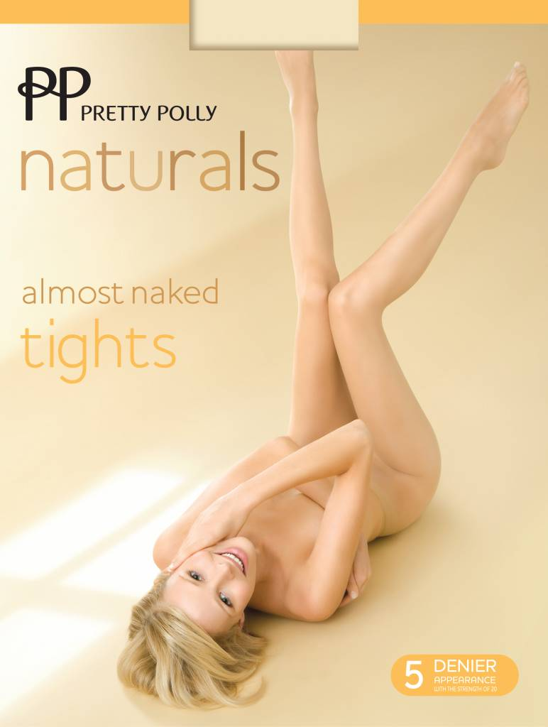 """Pretty Polly 5D. """"Naturals"""" Almost Naked zomer Tights"""