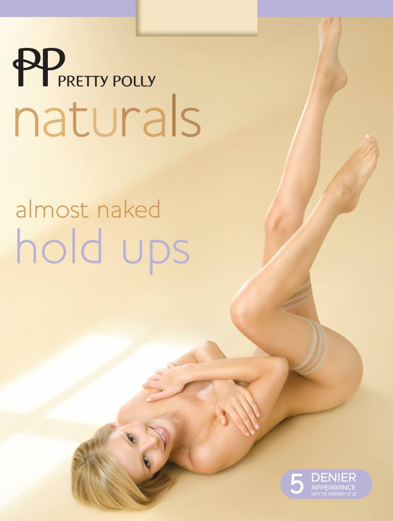 """Pretty Polly 5D. """"Naturals"""" Almost Naked zomer Hold Up's"""
