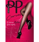 "Pretty Polly 10D. ""Nylons"" XL en XXL Gloss panty"
