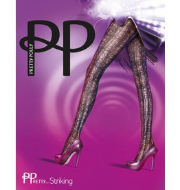 Pretty Polly Pretty Striking Laddered Tights
