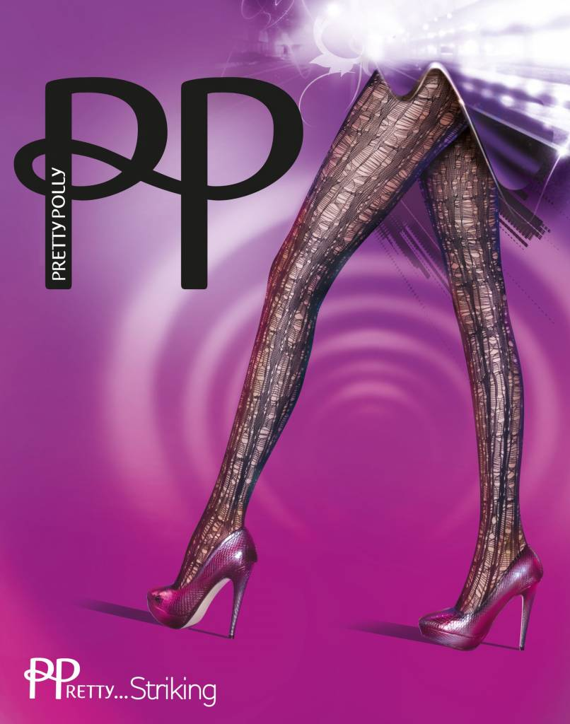 Pretty Polly Pretty Striking Laddered Panty