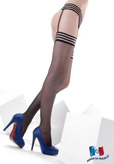 Clio Modern Suit Suspender Stockings