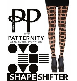 Patternity All over Shape Design Tights