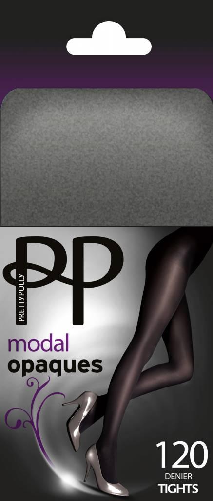 Pretty Polly 120D. Modal Opaque Panty