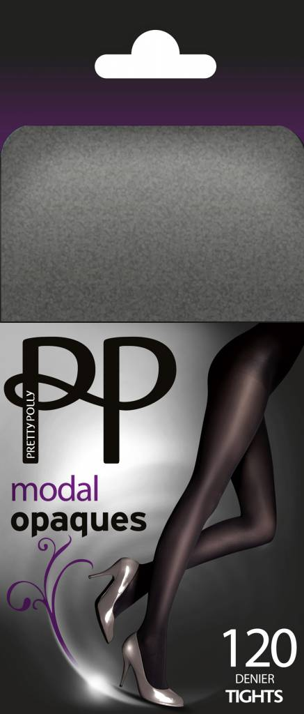 Pretty Polly 120D. Modal Opaque Tights