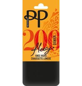 Pretty Polly 200D. Fleecy Opaque Kniekousjes