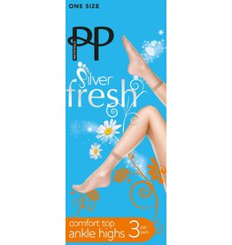 Pretty Polly 15D. Enkelhighs (3 pair)