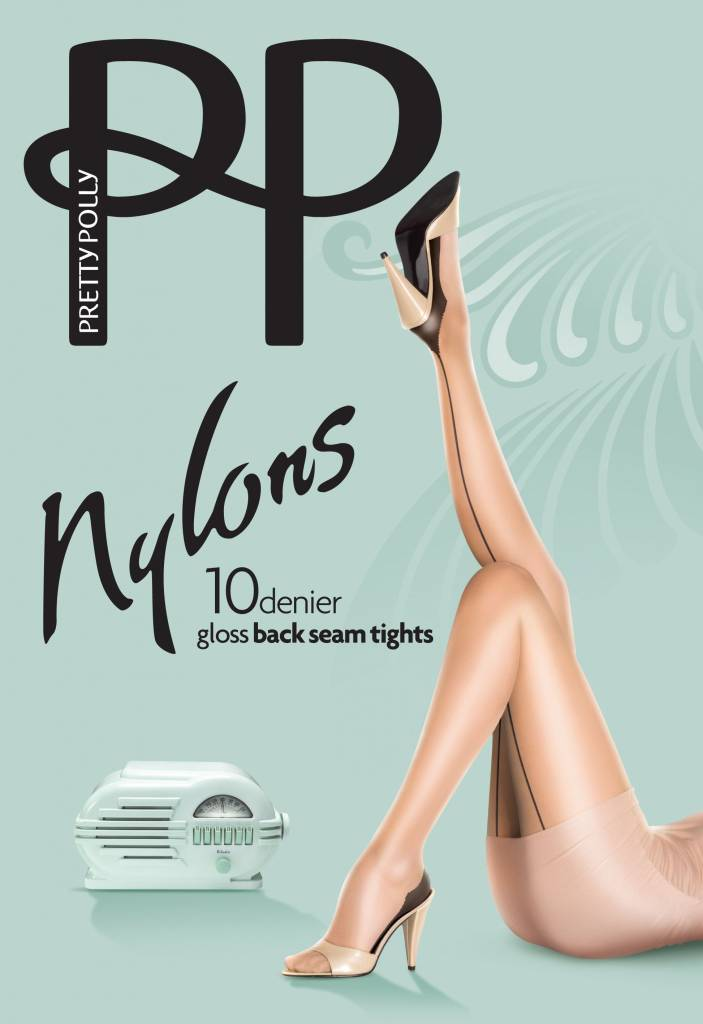 """Pretty Polly 10D. """"Nylons"""" naadpanty"""