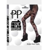 House of Holland Broken Hearts Tights