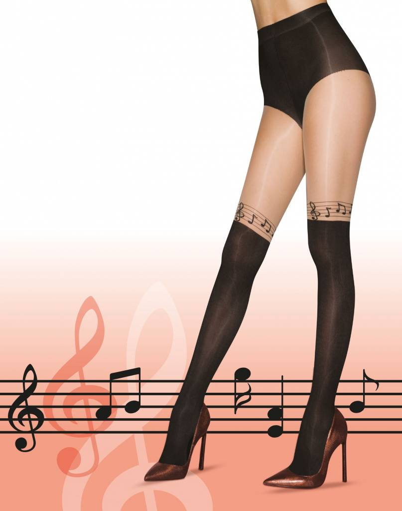 Pretty Polly Musical Notes Tights