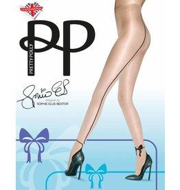 Pretty Polly Bow Backseam Panty