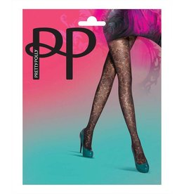 Pretty Polly Baroque Lace Backseam Tights