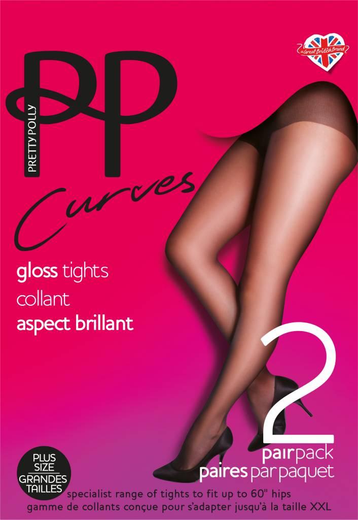Pretty Polly Gloss Tights 2PP