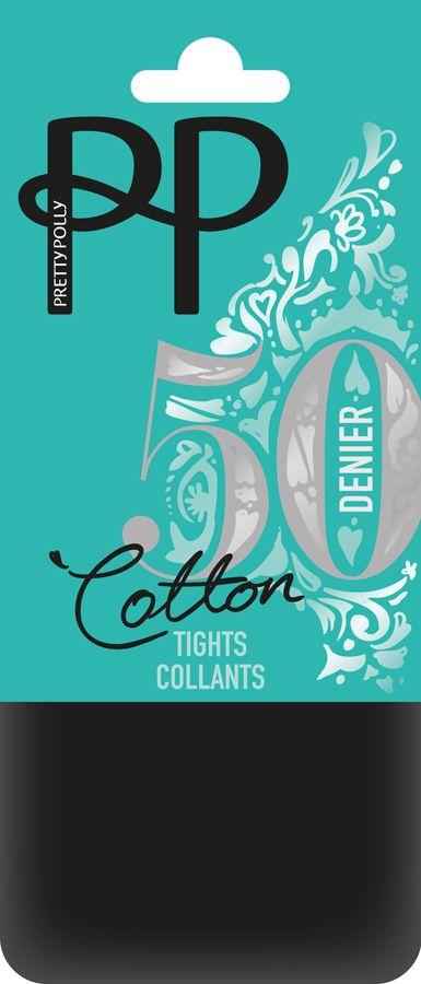Pretty Polly 50D Cotton Sheer Panty