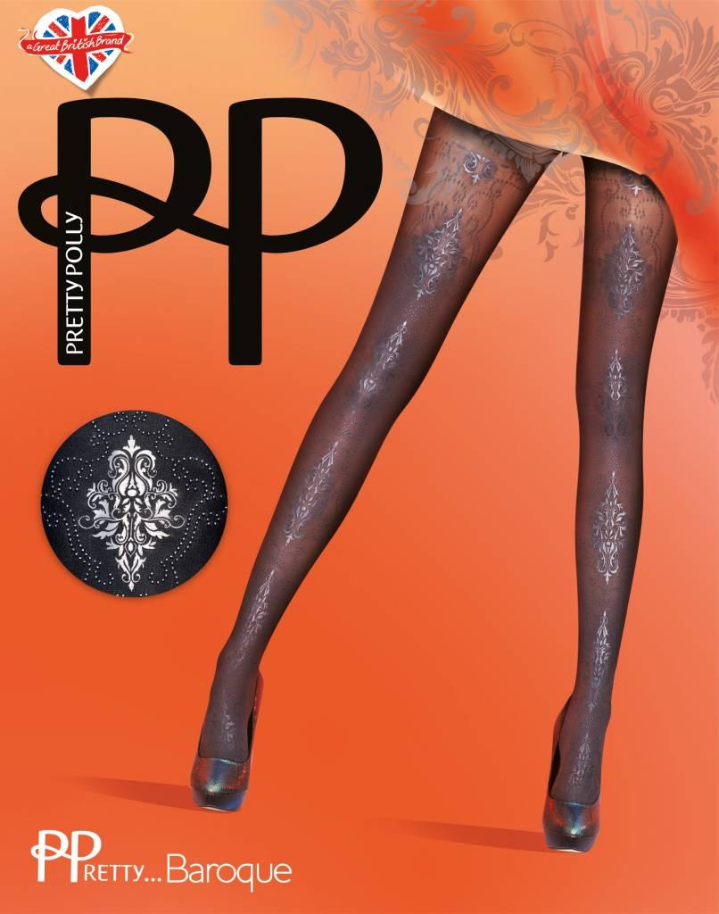 Pretty Polly Baroque Print Panty