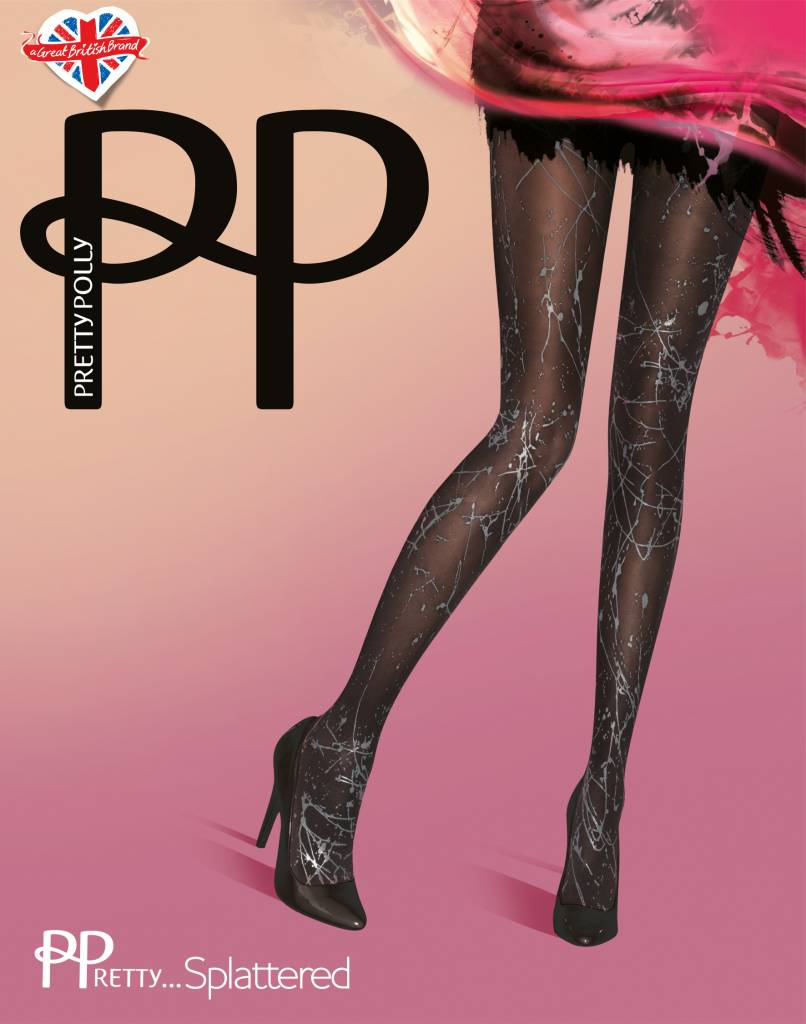 Pretty Polly Paint Splatter Panty
