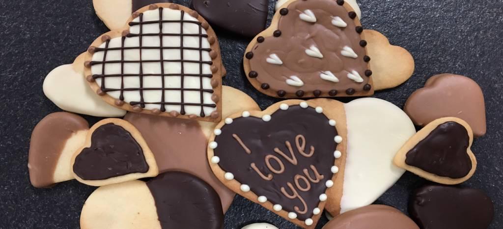 Koekjes voor Valentijnsdag