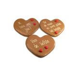 Chocoladehart Valentijn