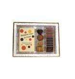 Luxe trio doos bonbons, chocolade en napolitains