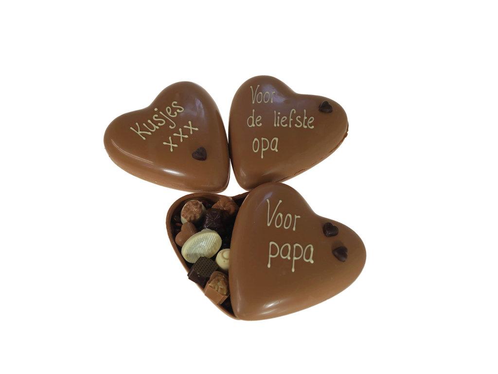 Groot vaderdaghart bonbons