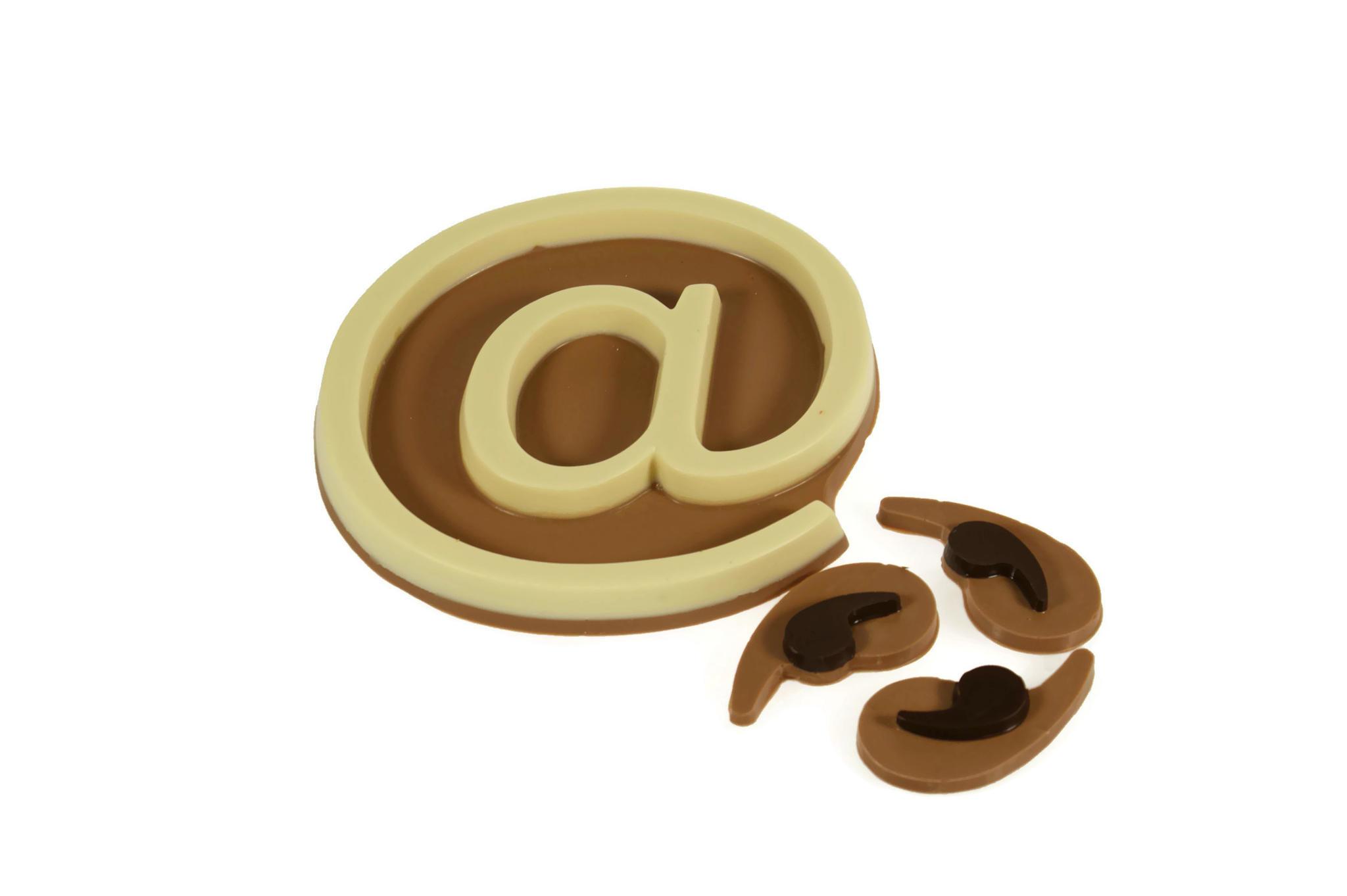 chocolade ontwerpen in eigen vorm